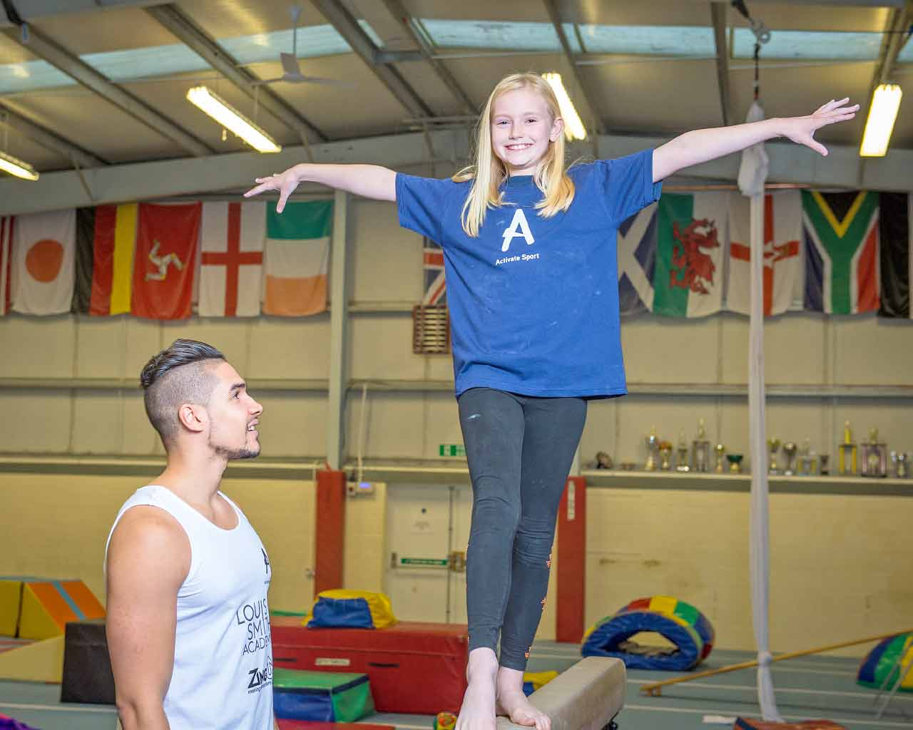 Louis Smith Gymnastics Experience