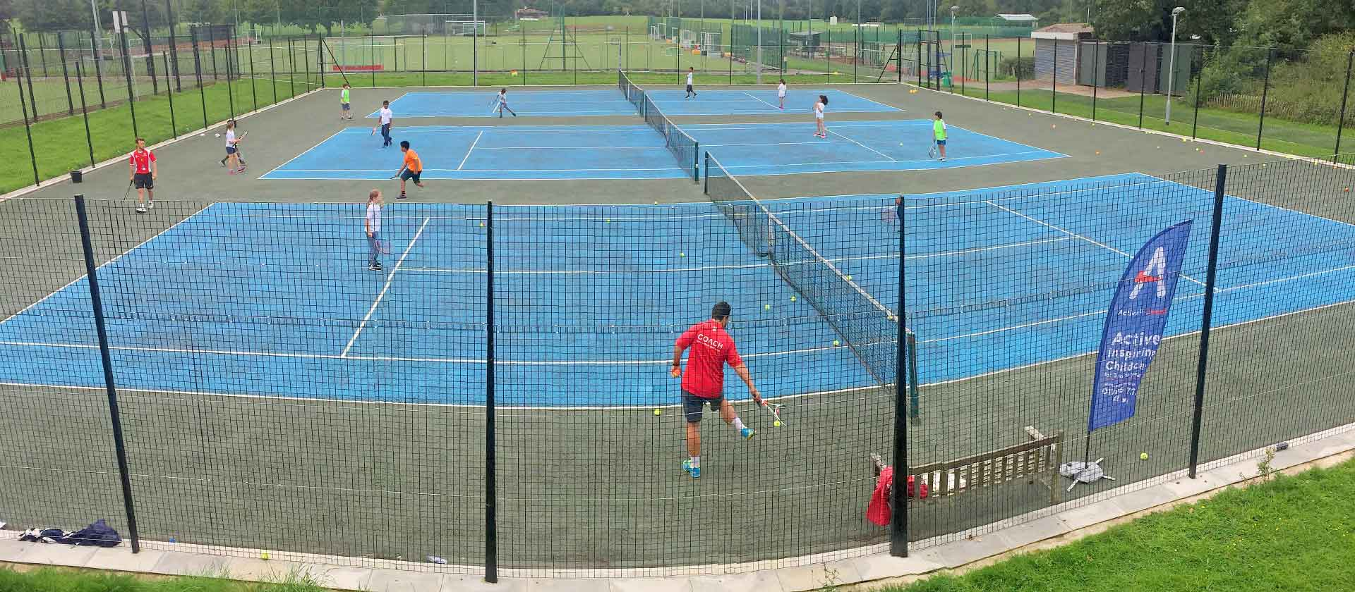 On Court Tennis Camps